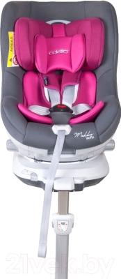 Автокресло Coletto Mokka Isofix (серый/розовый)