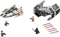 Конструктор Lego Star Wars Усовершенствованный истребитель Дарта Вейдера 75150 -