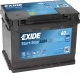 Автомобильный аккумулятор Exide Start-Stop AGM EK600 (60 А/ч) -