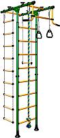 Детский спортивный комплекс Romana Комета 1 ДСКМ-2-8.06.Т.490.01-108 (зеленый/желтый) -