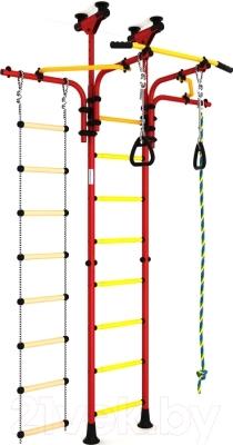 Детский спортивный комплекс Romana Карусель R5 ДСКМ-2-8.06.Т1.410.03-14 (красный/желтый)