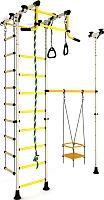 Детский спортивный комплекс Romana Карусель R33 ДСКМ-3-8.06.Т.490.01-64 (белый антик/золото) -