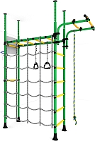 Детский спортивный комплекс Romana Карусель R4 ДСКМ-4-7.06.Г1.490.05-66 (зеленый/желтый) -