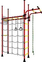 Детский спортивный комплекс Romana Карусель R4 ДСКМ-4-7.06.Г1.490.05-66 (красный/желтый) -