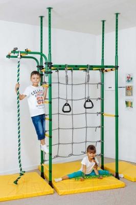 Детский спортивный комплекс Romana Карусель R4 ДСКМ-4-7.06.Г1.490.05-66 (красный/желтый)