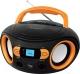 Магнитола BBK BS15BT (черный/оранжевый) -