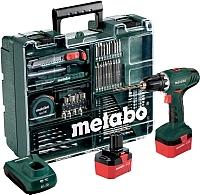 Профессиональная дрель-шуруповерт Metabo BS 12 Ni Cd Set Mobile (602194880) -