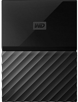 Внешний жесткий диск Western Digital 2Tb Metal Black (WDBYFT0020BBK-Wesn) -