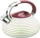 Чайник со свистком Peterhof PH-15568 (красный) -