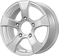 Литой диск iFree Лайт-круз (KC675) 15x6.0 5x139.7мм DIA 98мм ET 40мм (серебристый) -