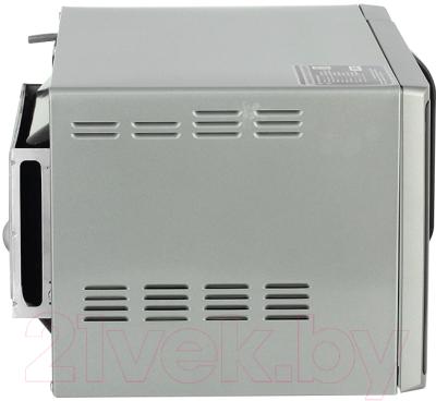 Микроволновая печь Samsung MG23K3513AS - вид сбоку