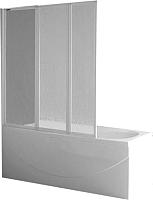 Стеклянная шторка для ванны Roltechnik PH3 140 (сатин/шиншилла) -