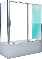 Стеклянная шторка для ванны Roltechnik PXV2L/170 (хром/прозрачное стекло) -