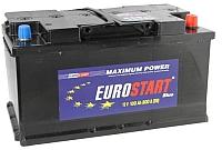 Автомобильный аккумулятор Eurostart Blue R+ 6СТ-100NR (100 А/ч) -