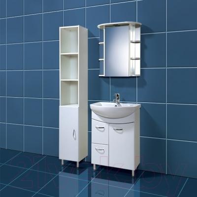 Шкаф-пенал для ванной Акваль София 30 (ES.03.00.00.N)