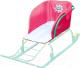 Сиденье мягкое для санок Ника СС2-1 (розовый) -
