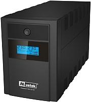 ИБП Mustek PowerMust 1260 LCD, Line Int., IEC (98-LIC-C1060) -