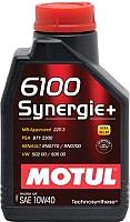 Моторное масло Motul 6100 Synergie + 10W40 / 101488 (2л) -