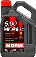 Моторное масло Motul 6100 Synergie + 10W40 / 101493 (5л) -