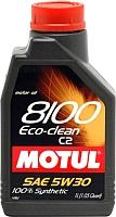Моторное масло Motul 8100 Eco-clean 5W30 / 101542 (1л) -