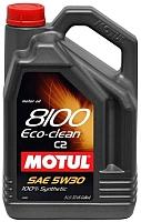 Моторное масло Motul 8100 Eco-clean C2 5W30 / 101545 (5л) -