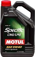 Моторное масло Motul Specific CNG/LPG 5W40 / 101719 (5л) -