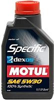 Моторное масло Motul Specific Dexos2 5W30 / 102642 (2л) -