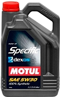 Моторное масло Motul Specific Dexos2 5W30 / 102643 (5л) -
