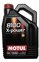 Моторное масло Motul 8100 X-power 10W60 / 106143 (4л) -