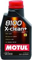 Моторное масло Motul 8100 X-clean + 5W30 /  106376 (1л) -