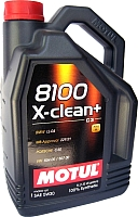 Моторное масло Motul 8100 X-clean + 5W30 / 106377 (5л) -