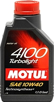Моторное масло Motul 4100 Turbolight 10W40 / 102774 (1л) -