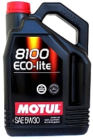 Моторное масло Motul 8100 Eco-lite 5W30 / 107251 (4л) -