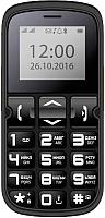 Мобильный телефон Vertex C306 (черный) -