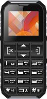 Мобильный телефон Vertex C307 (черный/серебристый) -