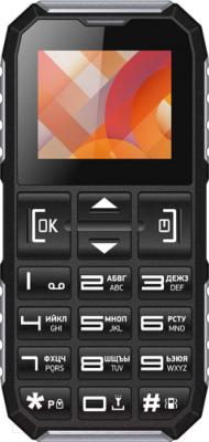 Мобильный телефон Vertex C307 (черный/серебристый)