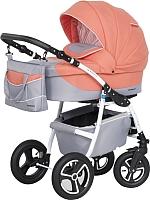 Детская универсальная коляска Riko Angelo 2 в 1 (07/коралловый) -