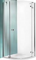 Душевой уголок Roltechnik Elegant Line GRP1/90 R55 (хром/прозрачное стекло) -