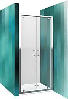 Душевая дверь Roltechnik Lega Line LLDO2/100 (хром/прозрачное стекло) -