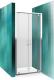 Душевая дверь Roltechnik Lega Line LLDO2/80 (хром/прозрачное стекло) -