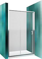 Душевое ограждение Roltechnik Lega Line LLD2/140 (хром/прозрачное стекло) -