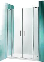 Душевая дверь Roltechnik Tower Line TDN2/140 (хром/прозрачное стекло) -