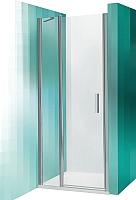 Душевая дверь Roltechnik Tower Line TDN1/90 (сатин/прозрачное стекло) -