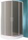 Душевой уголок Roltechnik SaniPro Cofe/90 R55 / N0651 (хром/графит) -