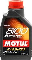 Моторное масло Motul 8100 Eco-nergy 5W30 / 102782 (1л) -