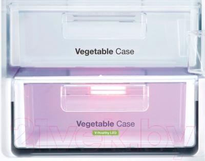 Холодильник с морозильником Daewoo RNV3310GCHW