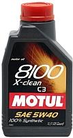 Моторное масло Motul 8100 X-clean 5W40 / 102786 (1л) -