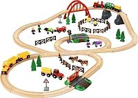 Железная дорога детская Brio Загородная жизнь 33516 -