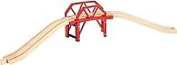 Элемент железной дороги Brio Изогнутый мост 33699 -
