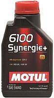 Моторное масло Motul 6100 Synergie + 5W40 / 103728 (1л) -